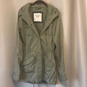 Abercrombie & Fitch Military Anorak Jacket 🧥 S